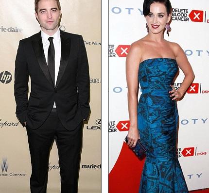 Robert Pattinson và nữ ca sĩ Katy Perry ngày càng thân thiết.
