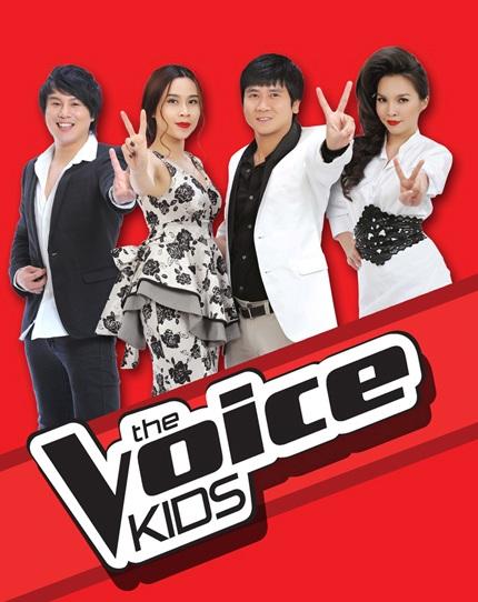 Bốn huấn luyện viên của chương trình Giọng hát Việt nhí mùa đầu tiên