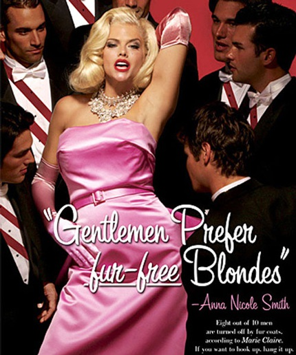 Cựu người mẫu của tạp chí Playboy Anna Nicole Smith