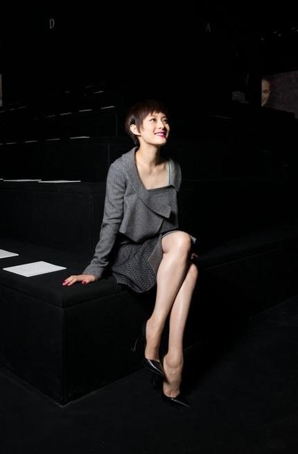 Nữ diễn viên Trung Quốc Tôn Lệ cá tính với tóc tém