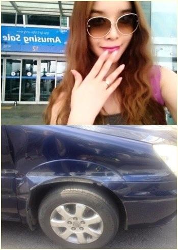 Harisu vừa gặp tai nạn giao thông tại Trung Quốc