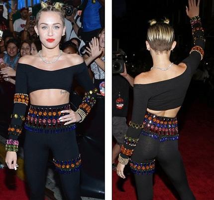 Miley Cyrus giờ đang gây dựng hình ảnh gái hư tại Hollywood