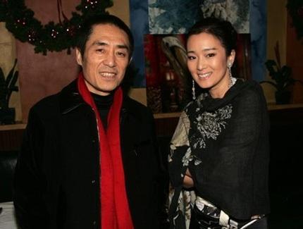 Củng Lợi và đạo diễn Trương Nghệ Mưu