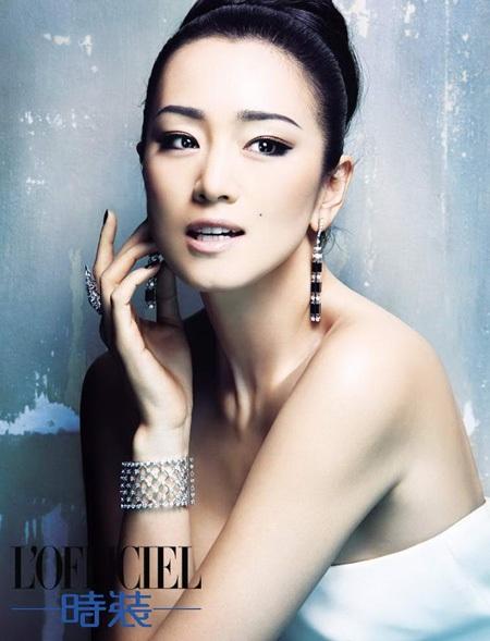 Củng Lợi đẹp hoàn hảo trên tạp chí Officiel, số tháng 9/2013