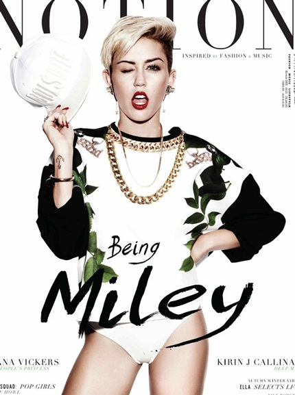 Một bức ảnh giản dị nhất của Miley trong loạt ảnh này