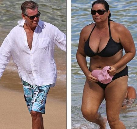 Ngôi sao 60 tuổi và vợ đang đi nghỉ cùng nhau tại Hawaii