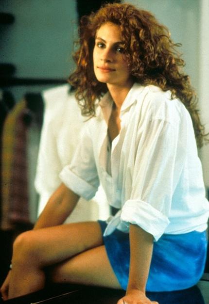 Julia Roberts nổi tiếng với vai diễn gái gọi Vivian trong bộ phim