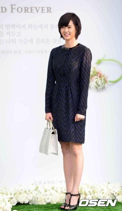 Ngôi sao trẻ Go Ah Ra tới chung vui với Lee Byung Heon và Lee Min Jung