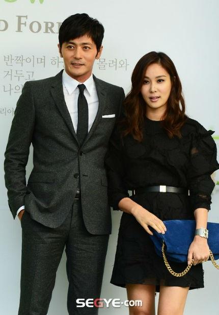 Vợ chồng Jang Dong Gun và Go So Young