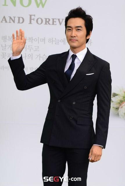 Song Seung Heon - ngôi sao của Trái tim mùa thu