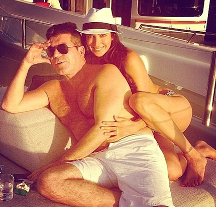 Simon Cowell và bạn gái - Lauren Silverman