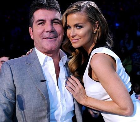Carmen Electra và Simon hò hẹn khi cùng tham gia chương trình X Factor Mỹ