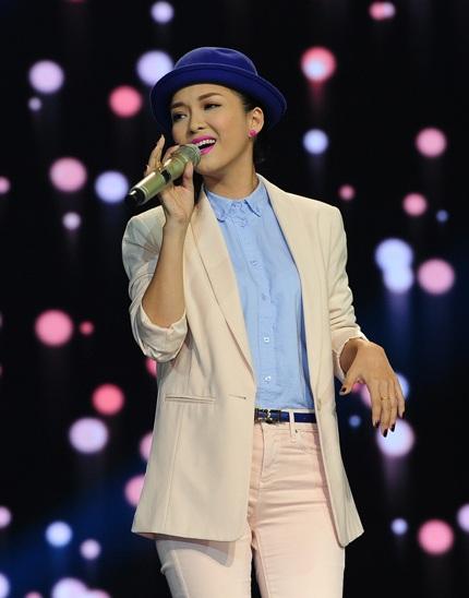 Đinh Hương là khách mời trong đêm chung kết