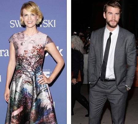 Liam cũng từng dính tin đồn với nữ diễn viên January Jones trong thời gian còn hò hẹn với Miley
