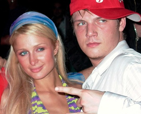 Nick Carter từng hò hẹn với Paris Hilton trong vòng một năm