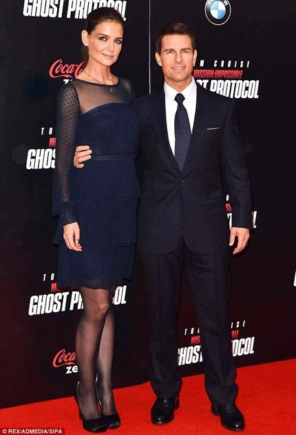 Katie Holmes và chồng cũ Tom Cruise