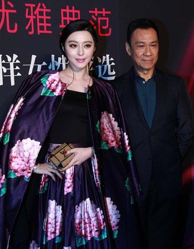 Phạm Băng Băng sánh đôi cùng nam diễn viên ngoài 60 tuổi từng có tin đồn tình cảm với cô.