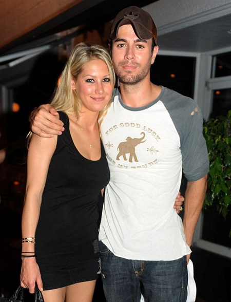 Enrique Iglesias và Anna Kournikova đã hò hẹn 12 năm.