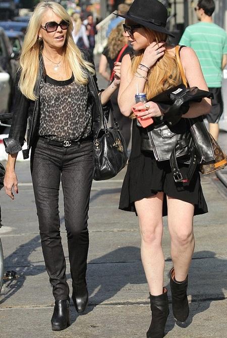 Lindsay tuyên bố cấm bố ruột được tới gần và tham gia show truyền hình mới của cô