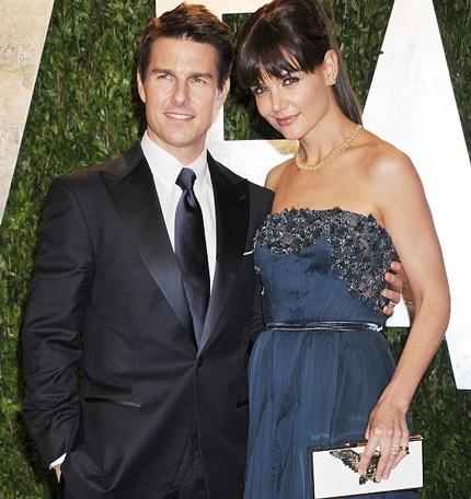 Tom Cruise và Katie Holmes khi còn chung sống