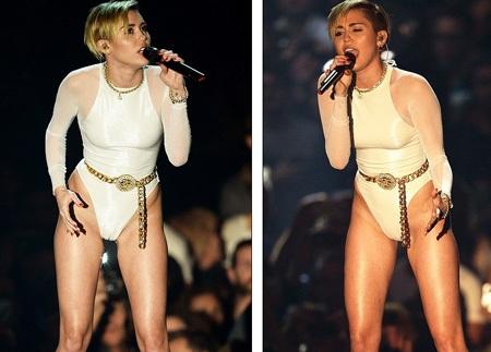 Bộ trang phục biểu diễn quá gợi cảm của nữ ca sĩ 20 tuổi
