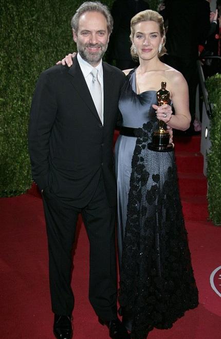 Kate và người chồng thứ hai - Sam Mendes, kết quả tình yêu của họ là cậu con trai 9 tuổi.