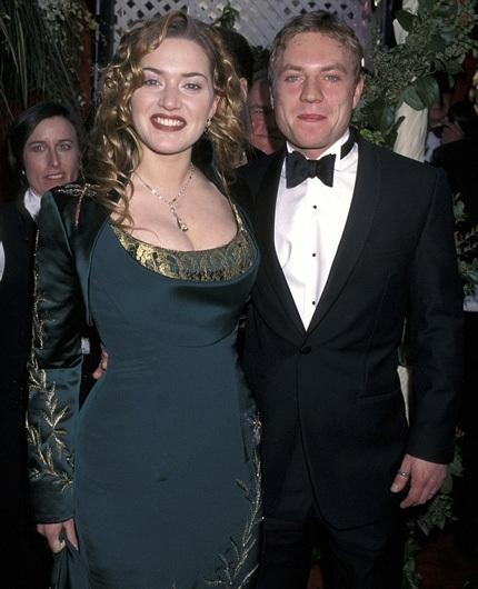Kate và người chồng đầu tiên - Jim Threapleton, kết quả tình yêu của họ là một cô con gái.