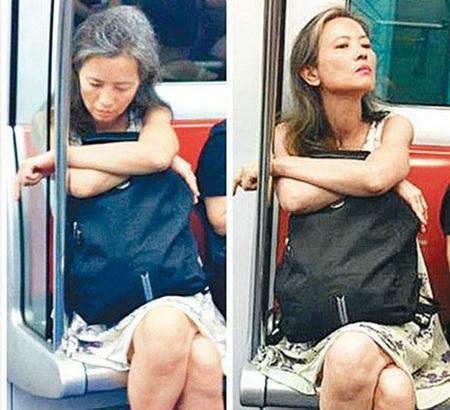 Lam Khiết Anh của hiện tại, không nhà cửa, tâm thần hoảng loạn và không giữ quan hệ với bất kỳ ai.