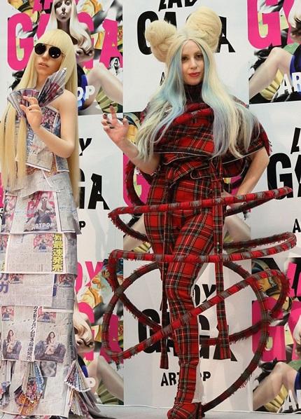 "Lady Gaga ""lòe loẹt"" khi ở Nhật"