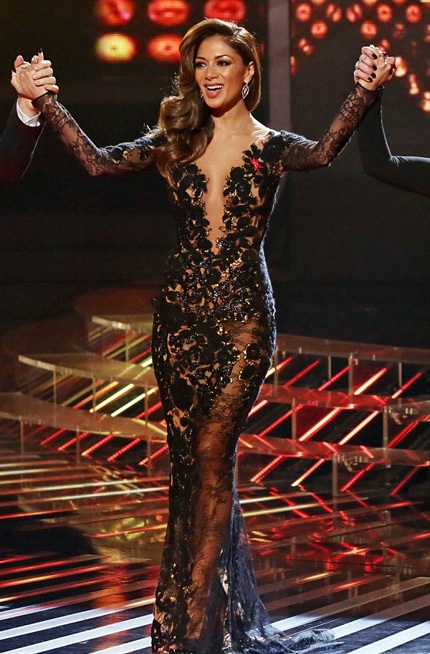 Thân hình hoàn hảo của nữ ca sĩ 35 tuổi.