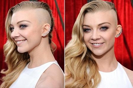 Kiểu tóc mới gíup nữ diễn viên Anh trở thành tâm điểm của lễ trao giải SAG