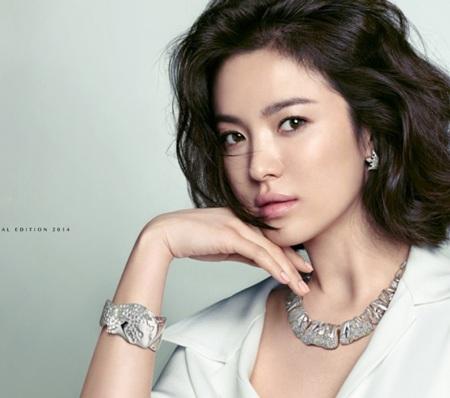 Song Hye Kyo xinh đẹp trong loạt ảnh mới