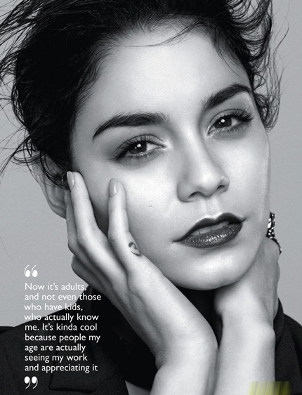 Những hình ảnh mới của Vanessa Hudgens trên tạp chí.