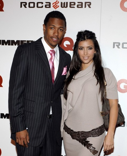 Kim Kardashian từng hò hẹn với Nick Cannon trong vòng 4 tháng