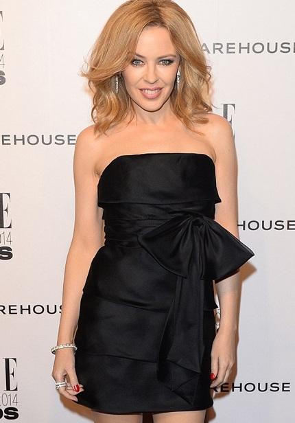Kylie Minogue trông vô cùng sành điệu và quyến rũ
