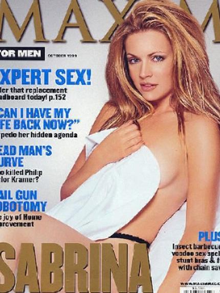 Melisa với bộ ảnh gợi cảm trên tạp chí Maxim từ năm 1999