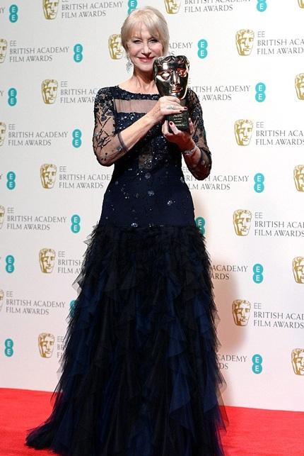 Helen Mirren giành giải Thành tựu tại lễ trao giải BAFTAs năm nay