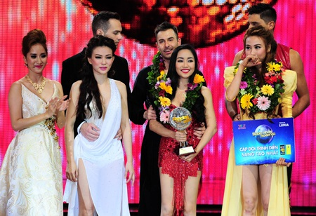 Giải bạc cuộc thi thuộc về Ốc Thanh Vân
