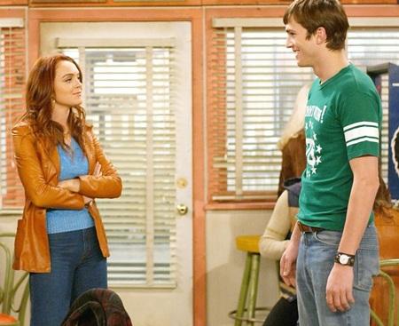 Lindsay Lohan và Ashton Kutcher từng hợp tác vào năm 2007