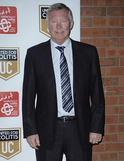 Cựu huấn luyện viên của đội Manchester United - Sir Alex Ferguson