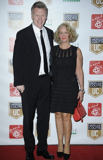 David Moyes và vợ Helen