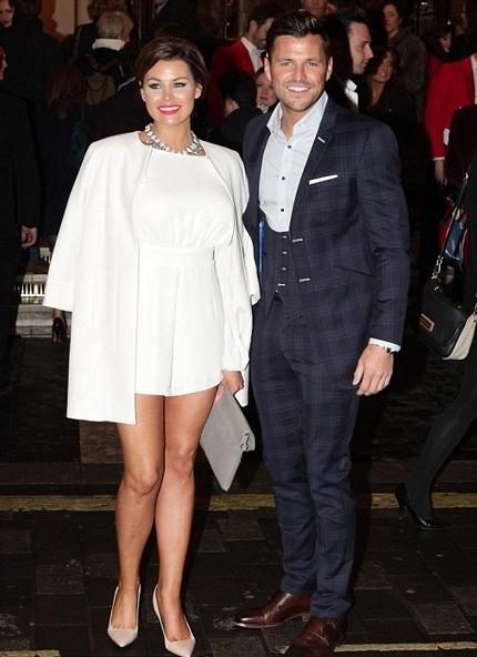 Nữ diễn viên truyền hình thực tế Jessica Wright (trái) cũng có mặt tại sự kiện này.