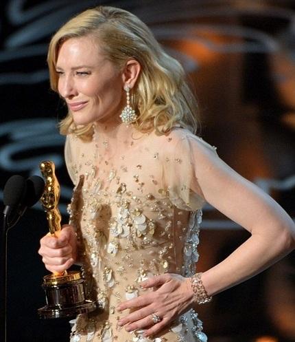 Cate Blanchett không tin nổi cô đã giành giải Oscar dành cho vai diễn trong