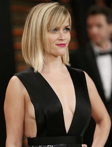Nữ diễn viên tóc vàng Reese Witherspoon cũng táo bạo hơn thường lệ