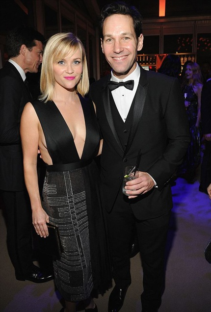Reese Witherspoon và nam đồng nghiệp Paul Rudd
