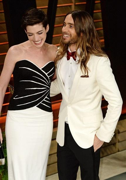 Jared Leto trêu đùa Anne Hathaway