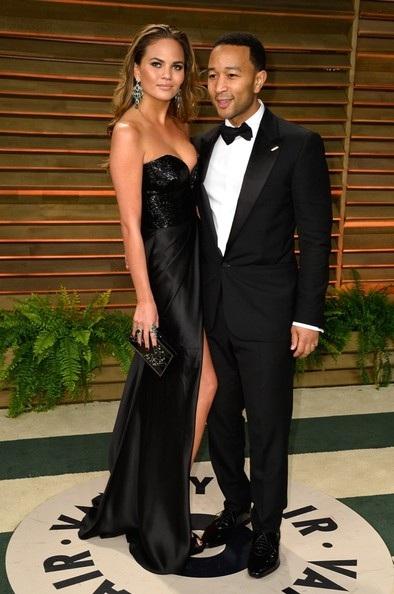 Vợ chồng siêu mẫu  Chrissy Teigen