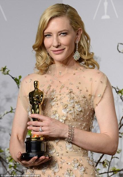Cate Blanchett - Nữ diễn viên chính xuất sắc nhất