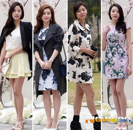 Nhiều đồng nghiệp nữ đã tới chúc phúc cho vợ chồng Oh Ji Ho