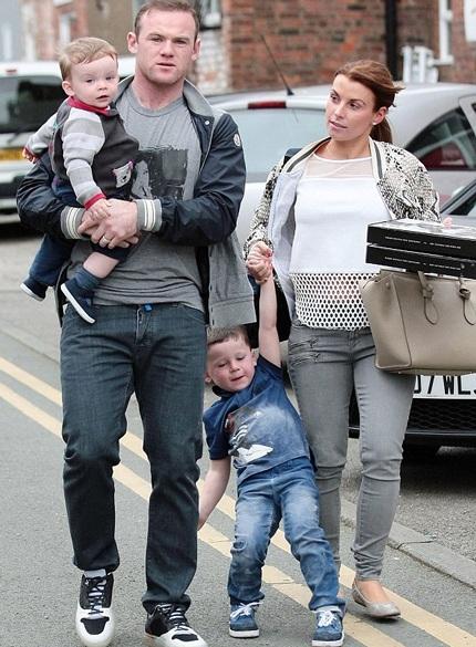 Vợ của Rooney hiện là một người mẫu kiêm nhà thiết kế thời trang.